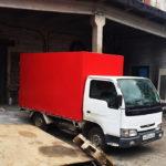 Тент на грузовик Nissan Atlas в Екатериньурге
