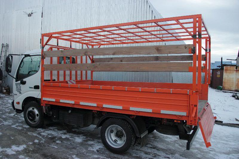 Изготовление каркаса на кузов грузовика