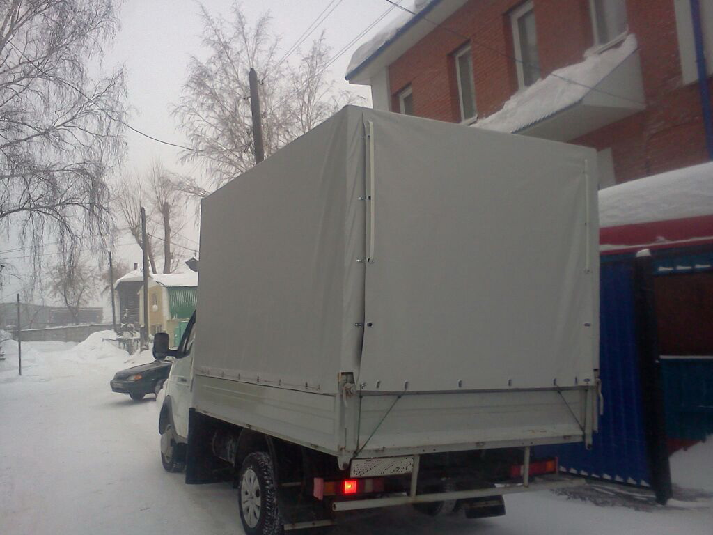 Задний клапан тента для грузовика Газель в Екатеринбурге