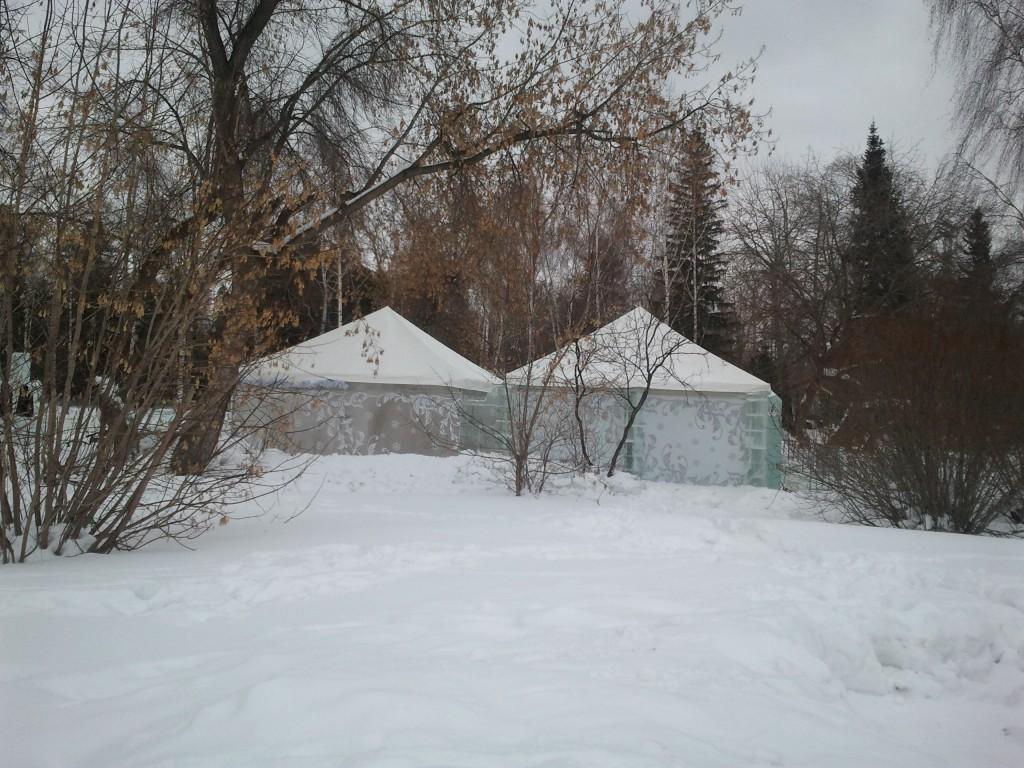Шатры-павильоны для зимнего отдыха