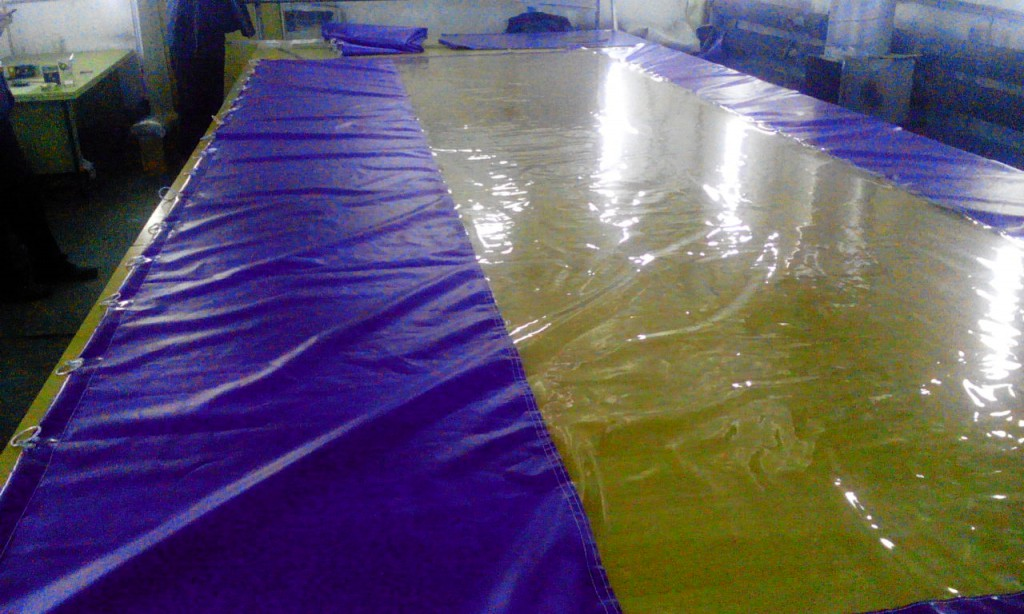 Производство завесы, шторы для автомойки в Екатеринбурге