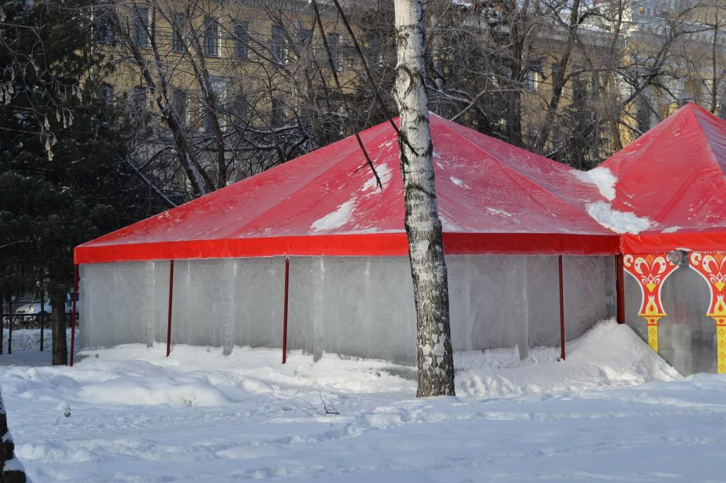 Зимний шатер павильон