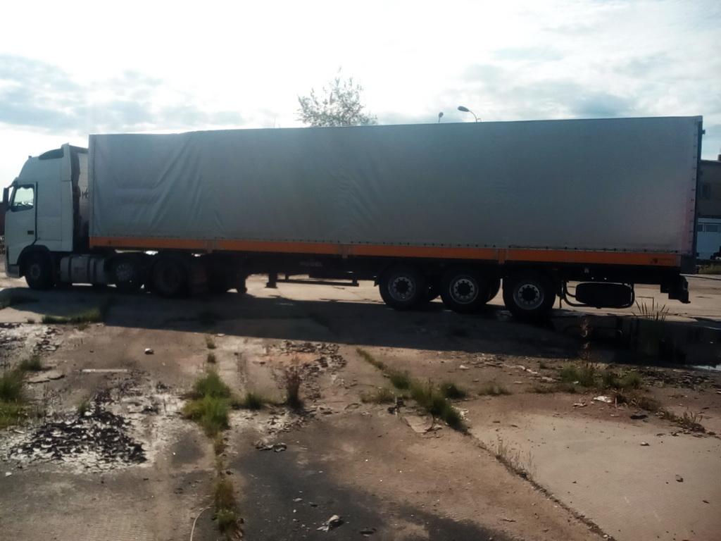 Изготовление на заказ тента на полуприцеп Koegel 13 метров, в Екатеринбурге