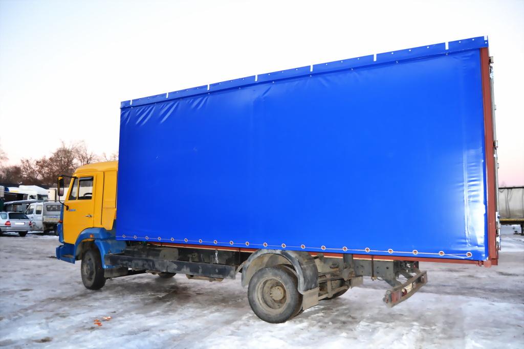 Тент на грузовой автомобиль Камаз в Екатеринбурге