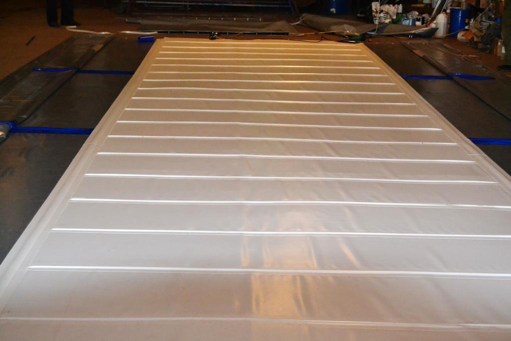 Производство тента на полуприцеп Wielton в Екатеринбурге