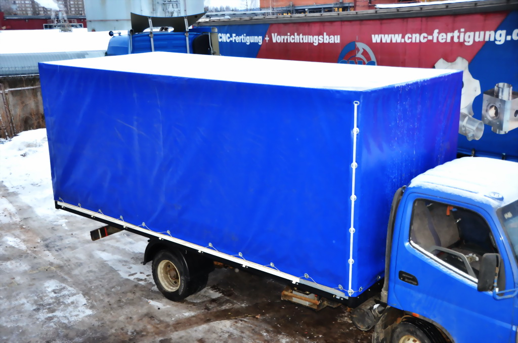 Тент на грузовик Foton в Екатеринбурге