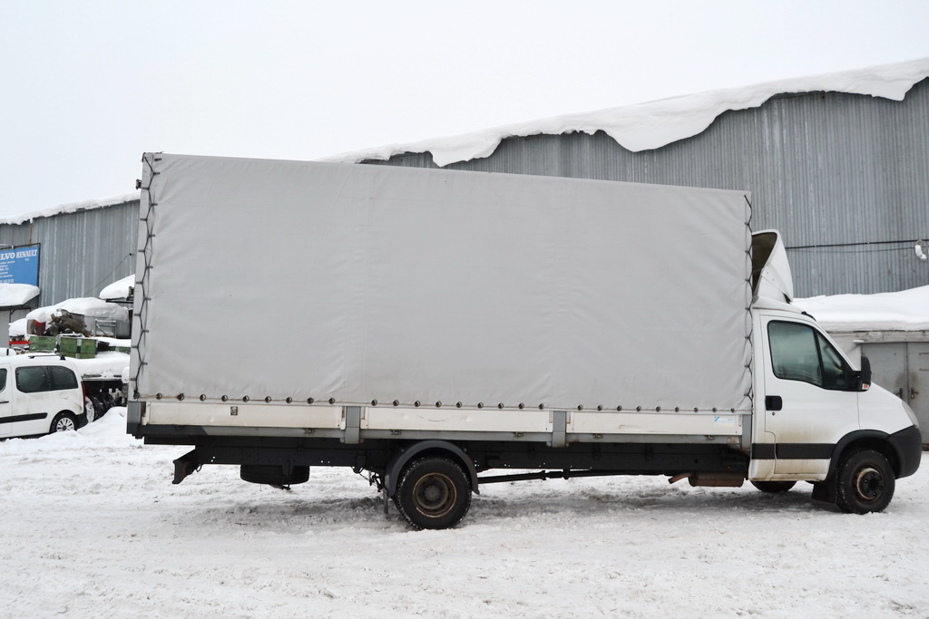 Тент для грузовика Iveco на эспандере