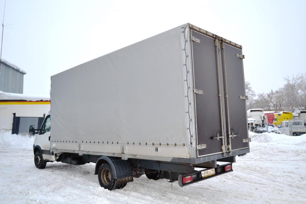 Тент для грузового автомобиля Iveco на резинке