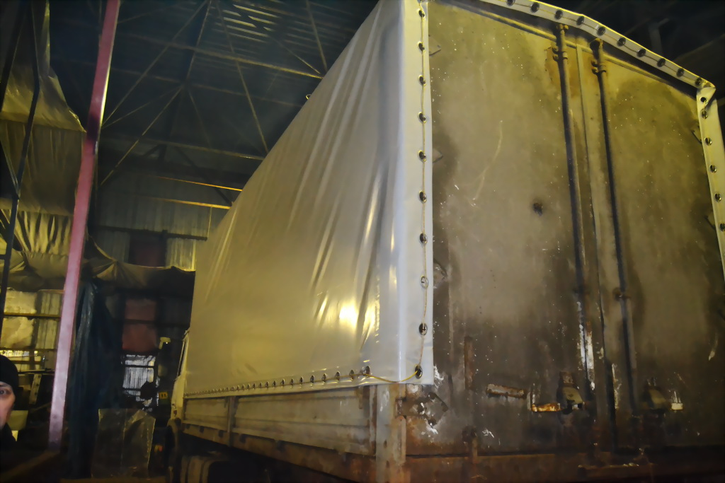 Изготовление грузового тента на автомобиль МАЗ в Екатеринбурге