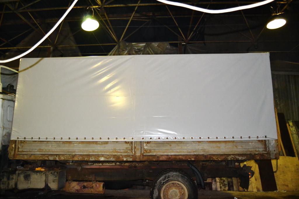Тент на грузовик МАЗ