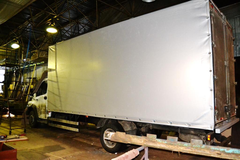 Тент на грузовик «Газон-Next»