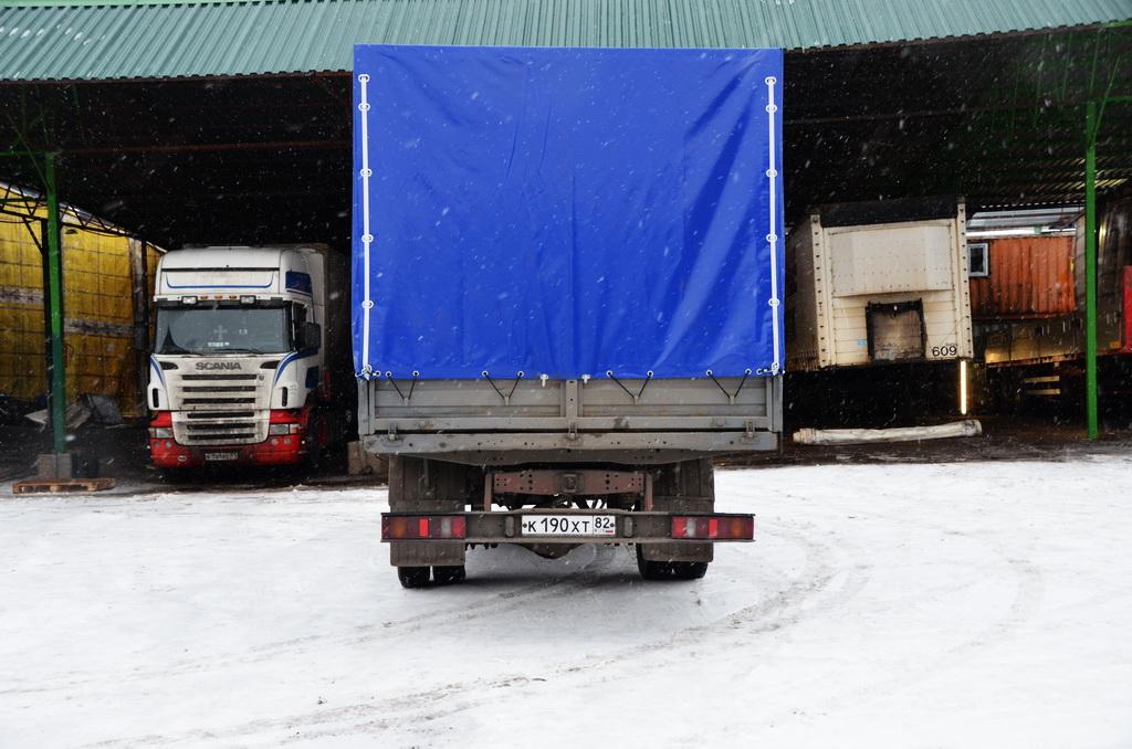 Изготовление и установка тента на «ГАЗ-Валдай»
