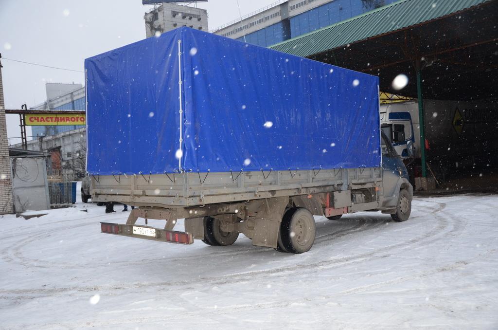 Изготовление каркаса и тента для «ГАЗ-33104»