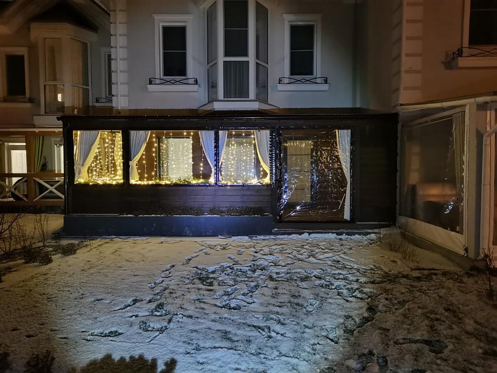 Мягкие окна на веранду в Екатеринбурге